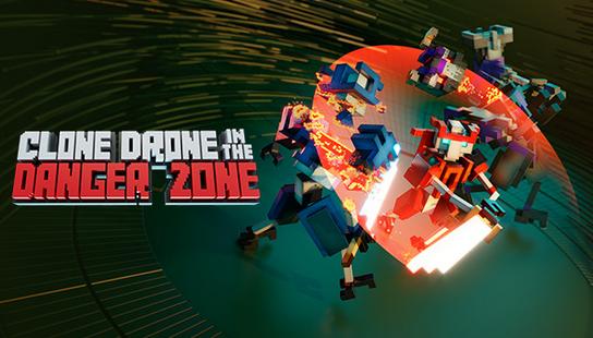 Clone Drone in The Danger Zone Full Ingles